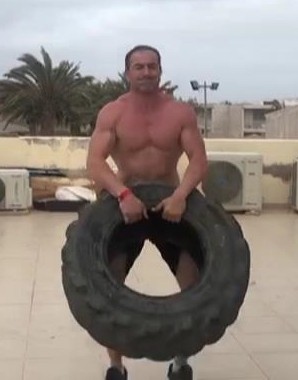 colin macgregor conditioning training tire