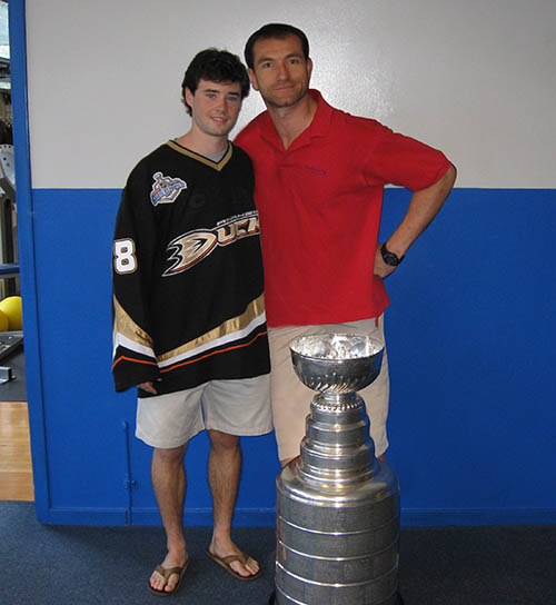 bodytuning gym with stanley cup ryan shannon and colin macgregor