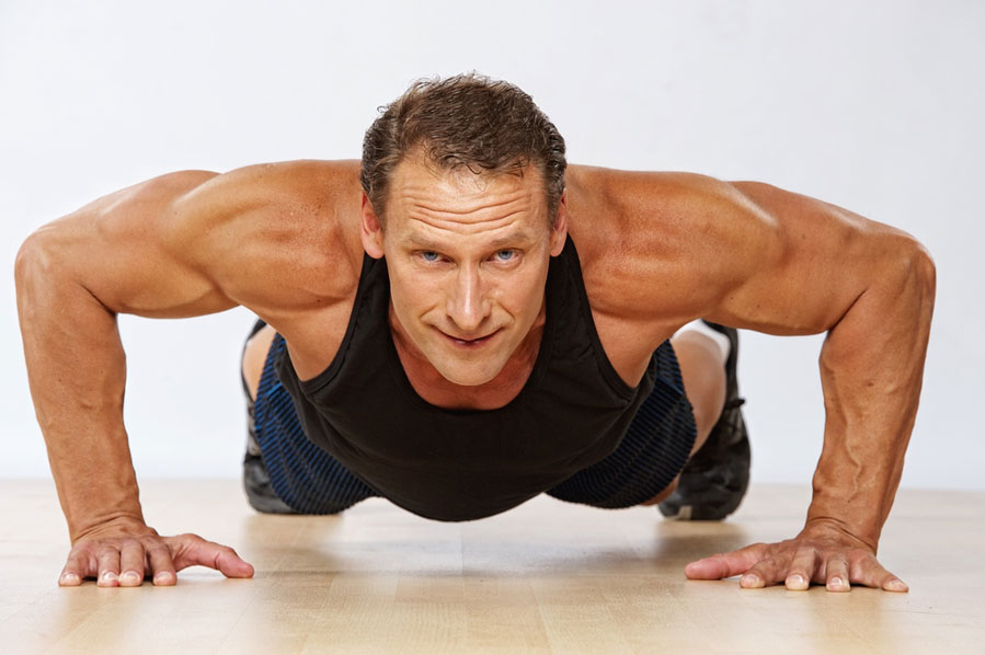 exercise for lower back pain push up bracing core